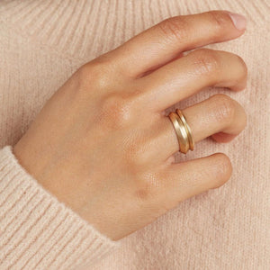 plain band rings