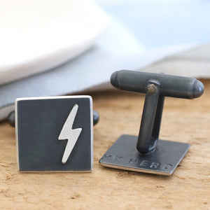 super hero cufflinks