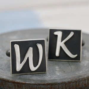 Personalised cufflinks gift