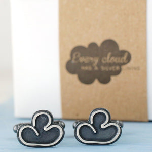 positive thoughts cufflinks