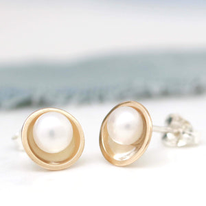 pearl anniversary earrings