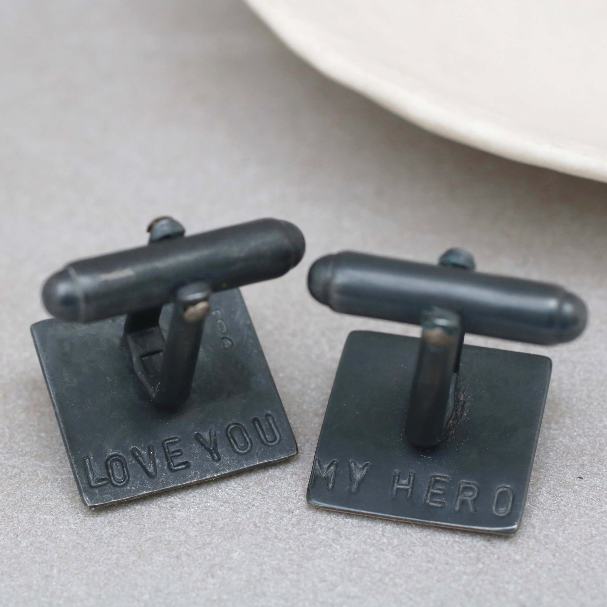 Golden Wedding Anniversary Cufflinks