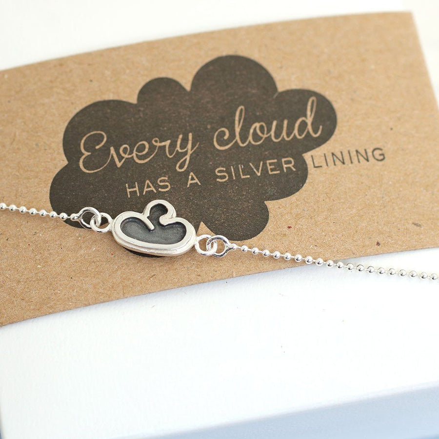 Cloud Bracelet. Thinking Of You Gift For Friend