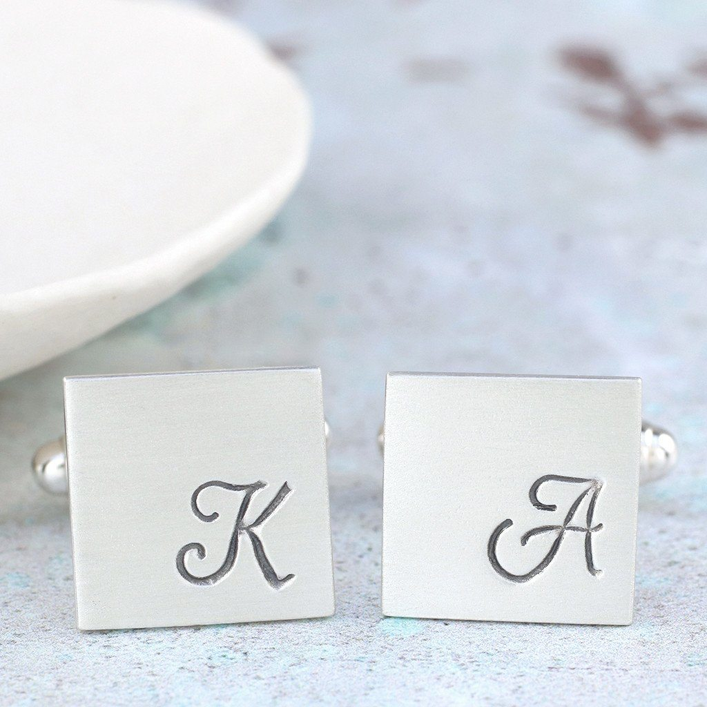 personalised wedding cufflinks