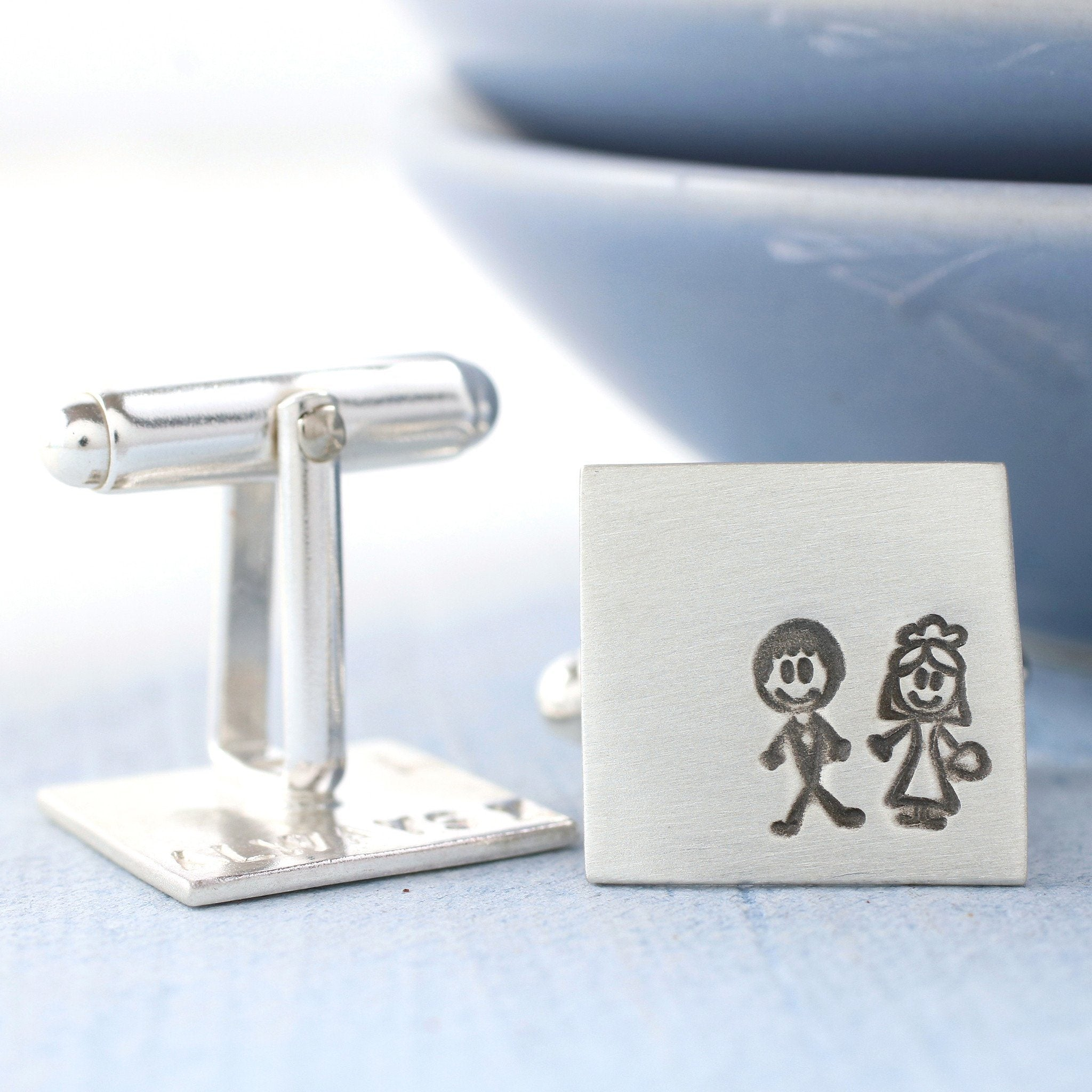 Bride Groom Cufflinks