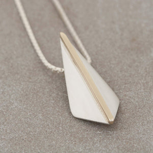 Art Deco Kite Pendant Necklace