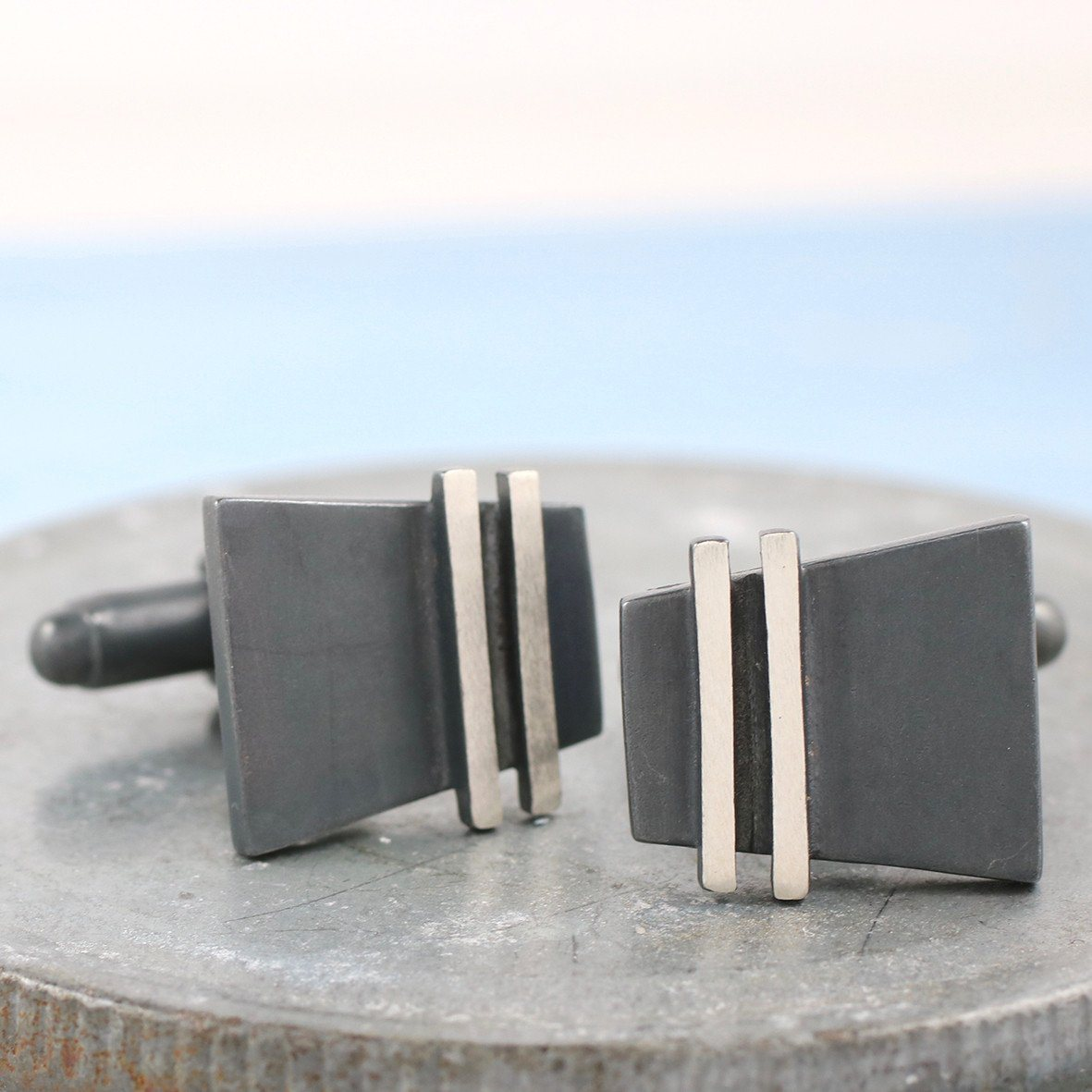 modern contemporary cufflinks