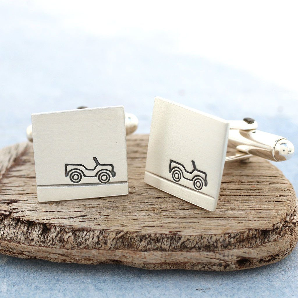 secret message car cufflinks