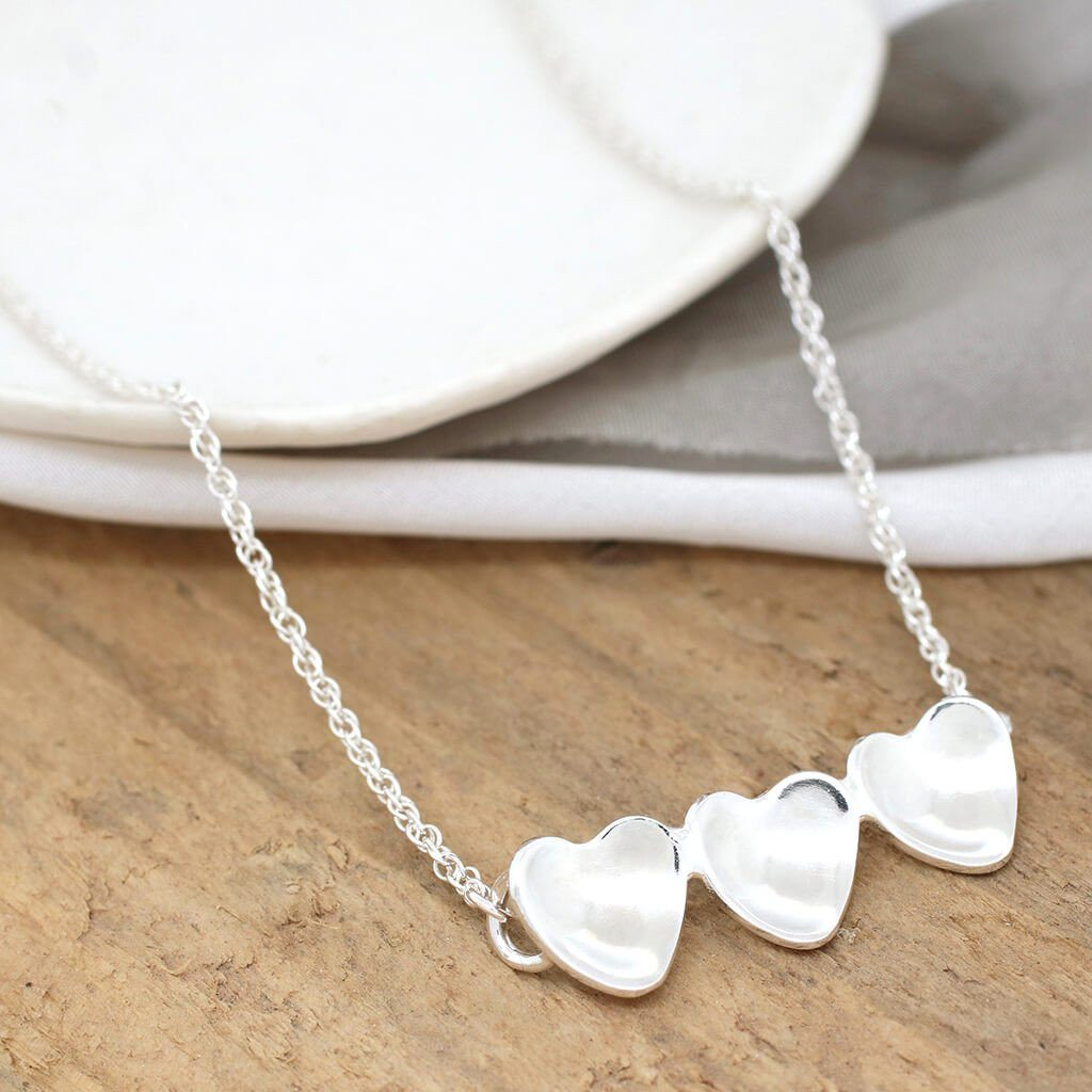 heart necklace for mum