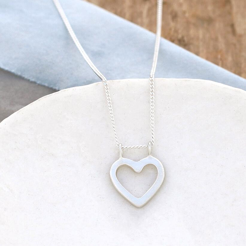 cute heart necklace
