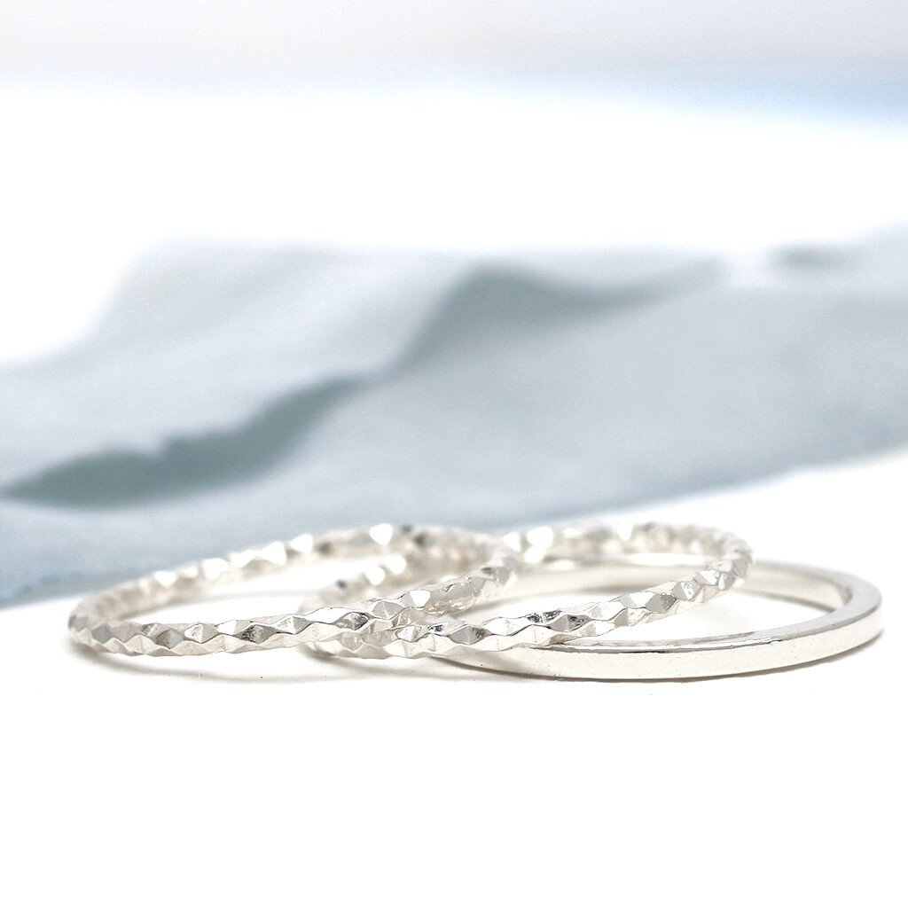dainty stackable rings