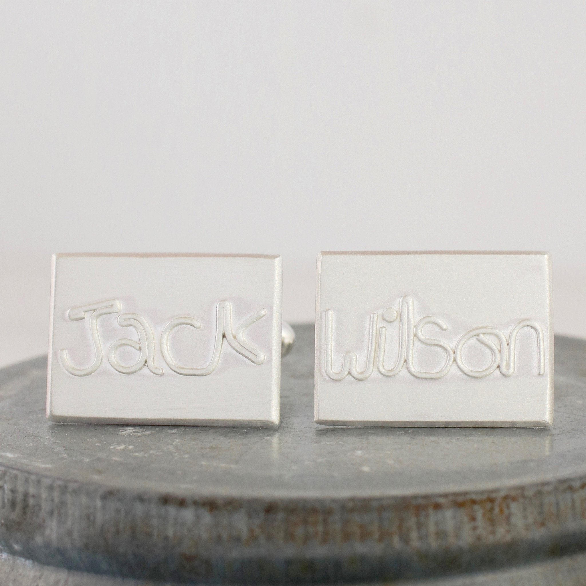 father of the bride gift cufflinks