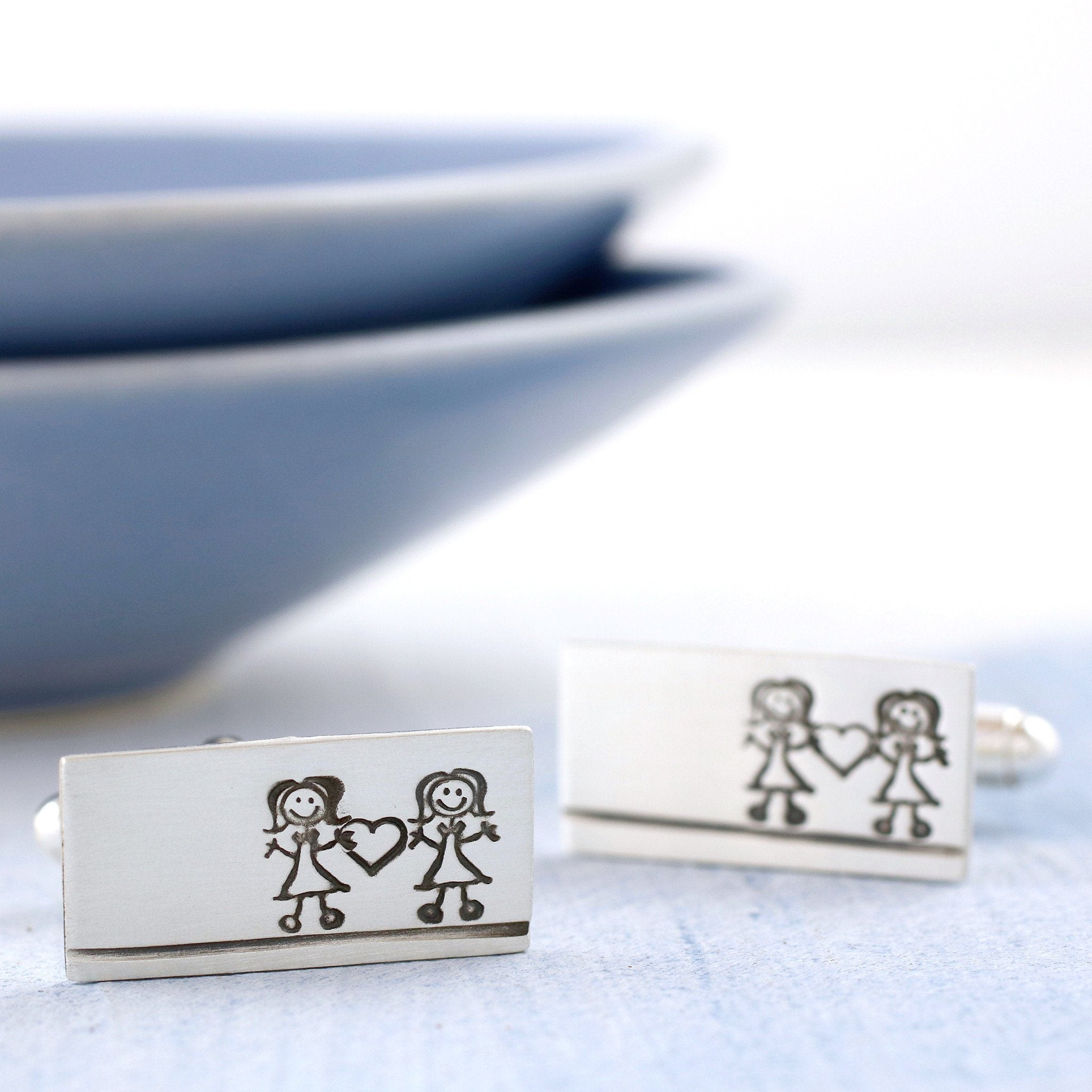 cute valentines cufflinks
