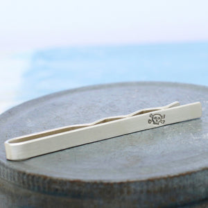 groom wedding tie clip