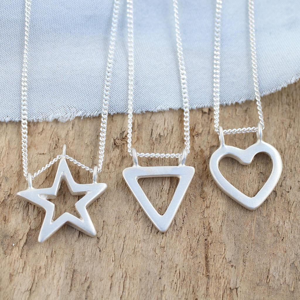 simple shape pendants