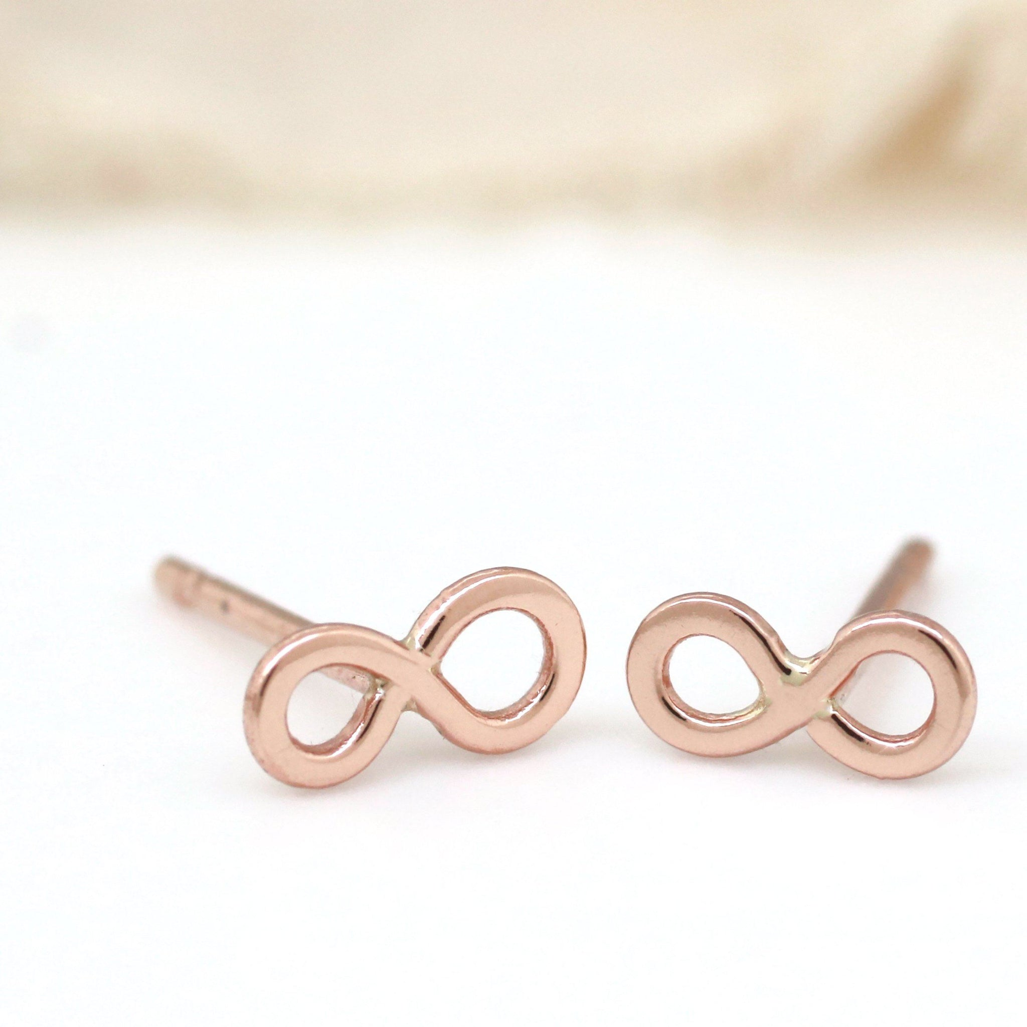 infinity symbol earrings