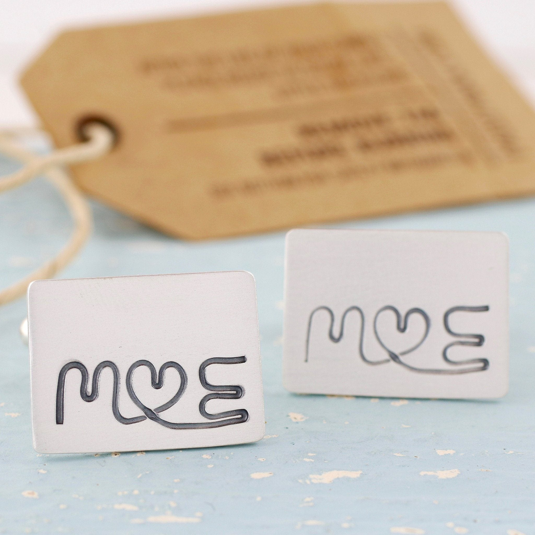 anniversary wedding cufflinks