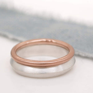 Chunky stackable ring