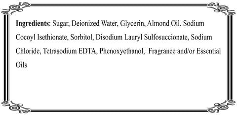 Sugarload Ingredients