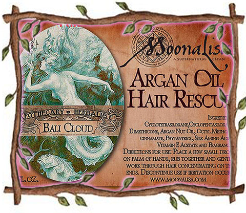 Argan Oil Hair Rescue - Spring
