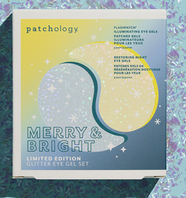 Patchology - Merry & Bright Glitter Eye Gel Kit - Limited Edition