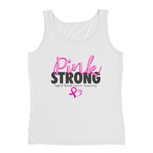Load image into Gallery viewer, Pink Strong Ladies Tank Top