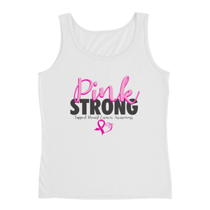 Pink Strong Ladies Tank Top