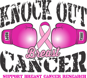 Knock Out Breast Cancer Tank Top