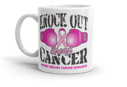 Knock Out Breast Cancer Coffee Mug