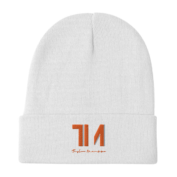 TM LifeStyle Embroidered Beanie
