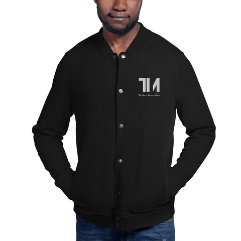 TM LifeStyle Embroidered Champion Bomber Jacket