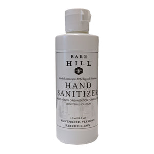 Barr Hill Hand Sanitizers 4oz - 3 bottles - Small Batch Sanitizers