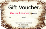 Gift Voucher - Guitar, Bass, Ukulele, Banjo and Harmonica Lessons - Brensales