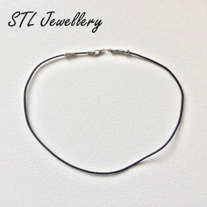 Leather Choker - Metal Clasp - Brensales