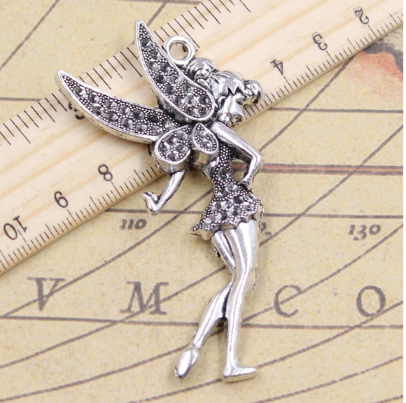 Tinkerbell Charm Pendant  - Large
