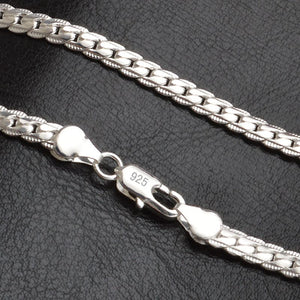 Silver Necklace  - 925 Sterling Silver - 5mm/ 50 cm - Brensales