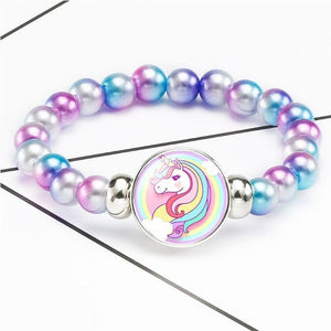 Unicorn Beads Bracelets 18mm Snap Holder - Brensales
