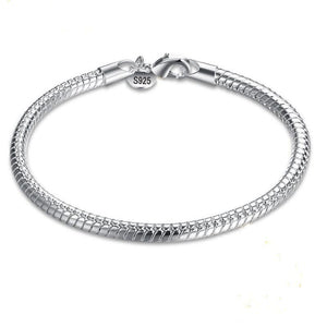 Snake Chain Bangle Bracelet - Brensales