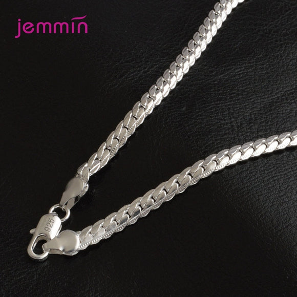 Chain Necklace - 925 Sterling Silver Chain - Brensales
