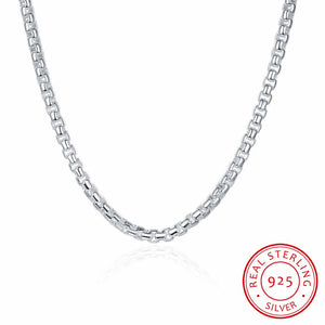 Men's Fine Sterling Silver Necklace