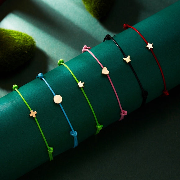 Wish Card Rope Bracelets