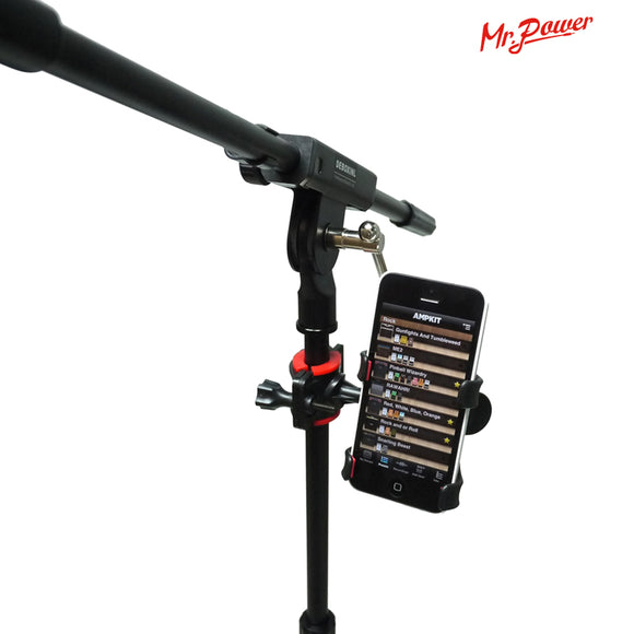 Universal Music Stand Microphone Phone Holder - Brensales