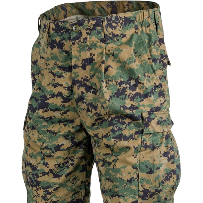 Helikon Marine Uniform Pants Digital Woodland