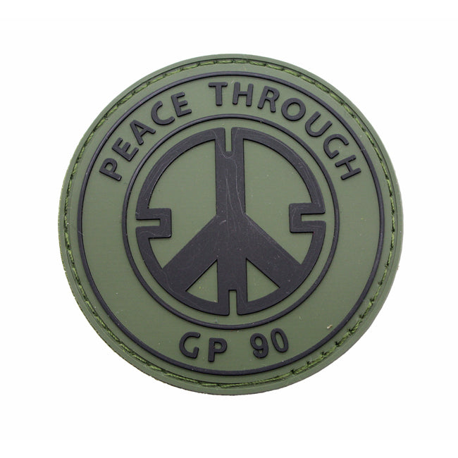 Pitchfork Peace Through GP90 Patch Olive
