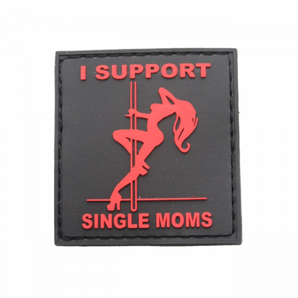 Pitchfork Single Moms Patch Noir