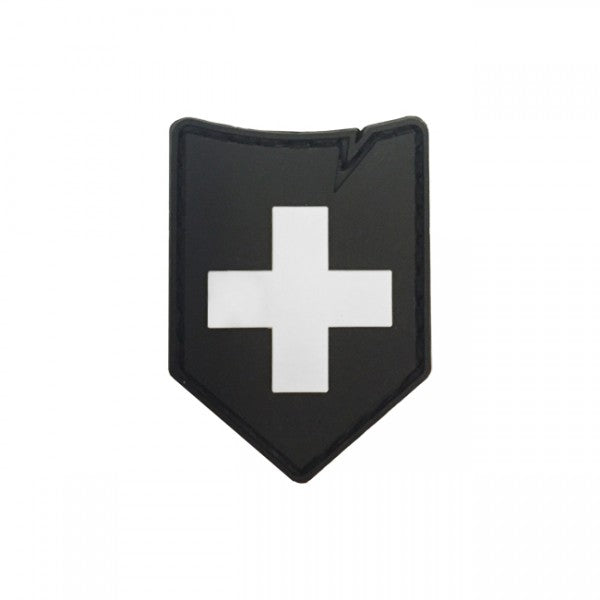 TACTICAL PATCH SWITZERLAND NOIR
