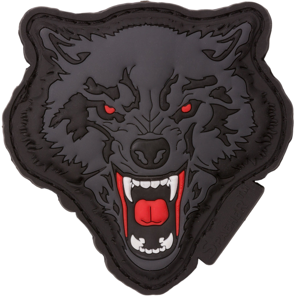 WOLF RUBBER PATCH COLOR