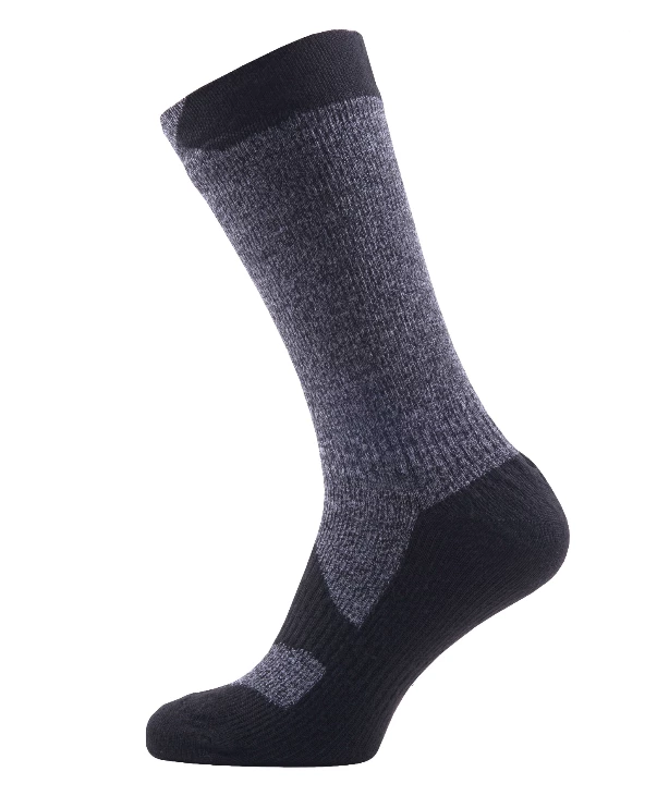 Sealskinz Super Thin Mid Black/grey