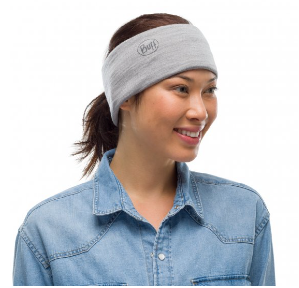 Buff laine MERINOS lightweight Solid Light Grey