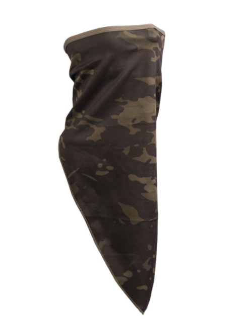 Face Scarf Multicam Black